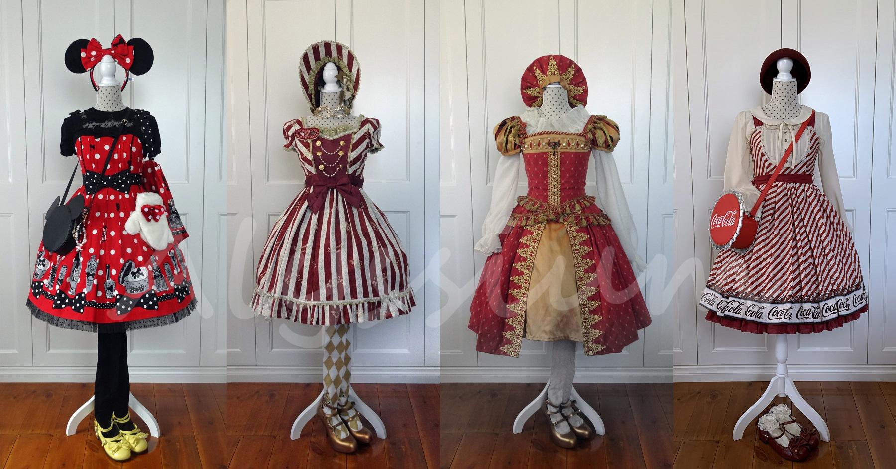 My 18 Lolita Wardrobe   Alyssiumbaby